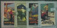 AUS SG2808-11 Poster Art: Nostalgic Tourism set of 4